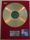 CLIFF RICHARD  - 24 Carat Gold LP disc - 'CLIFF'